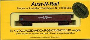 VOCX (ELX) Victorian Railways number 246 with Micro-Trains bogies