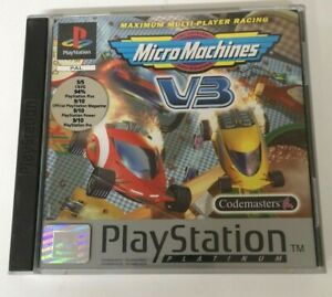 Micro Machines V3 Sony PlayStation 1 PS1 Game