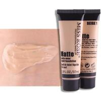 MISS ROSE Matte Liquid Foundation Smooth Makeup Base Face Cream Concealer