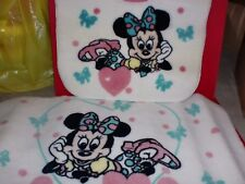 New Minnie Mouse Disney Official Toilet Bathroom Rug Contour Rug And Mat NEW