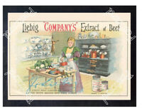 Historic Liebig Company Meat extract, 1880s Advertising Postcard 8