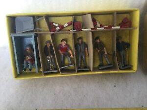 Dinky Toys Road Works & Signs Boxed Original ( Rare. Vintage Sets)