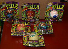 2007 Series 2 Mad Balls Set of 6 Toy Bouncy Basic Fun Item 1680