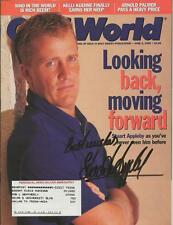 Stuart Appleby Signed 1999 Golf World Full Magazine