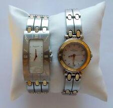Péquignet: 2 montres: Moorea 2004 et Equus baguette 2000