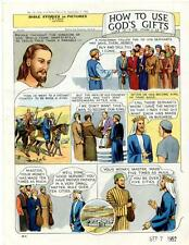 Bible Stories in Pictures #12 Part 4    September 7 1952     How To Use God's Gi