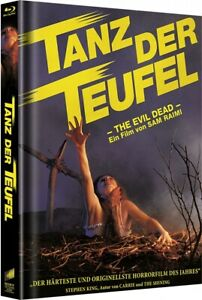 Tanz der Teufel (The Evil Dead) Mediabook A (3x Blu Ray) NEU/OVP