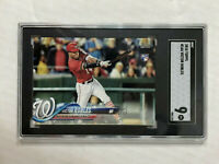 VICTOR ROBLES 2018 Topps Series 1 ROOKIE RC #166! SGC MINT 9! CHECK MY ITEMS!