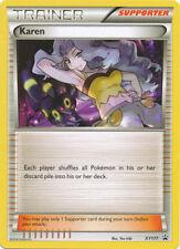 Pokemon XY Battle Arena Deck Karen Xy177 Black Star Promo Trainer Card