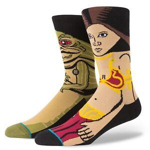 """New with Tags Stance Socks Star Wars """"Princess"""" (L 9-12) Leia Jabba ROTJ"""