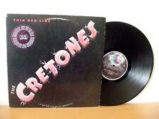 "THE CRETONES ""Thin Red Line"" original PROMO LP from 1980 (PLANET P-5)."