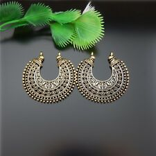 20pcs Antique Gold Alloy Half Moon Look Fashion Jewelry Charms Pendant Wholesale