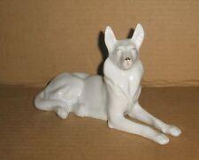 White German Shepherd figurine/ Hollohaza