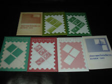 Thailand. Lot of 7 Complete Sets Maximum Cards (30) 1990's.