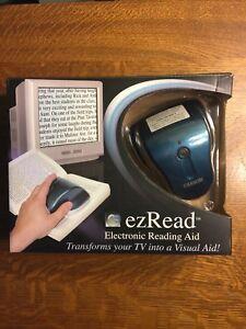 Carson EZ Read DR-200 ~ Electronic Reading Aid Magnifier (DR 200)