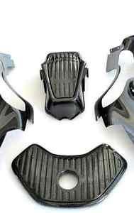 McLaren MP4-12C Carbon Fiber Engine Bay Panels 4 Piece Kit (mid section)