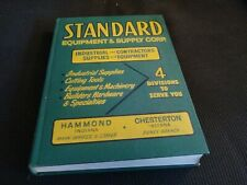 1961 Standard Equipment Supply Corp. Catalog Hardware Tools ASBESTOS Products