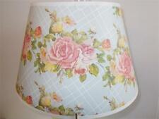 """Aladdin Lamps 14"""" Lattice Rose Bouquet Parchment Shade #100019765 Vintage, Farm"""