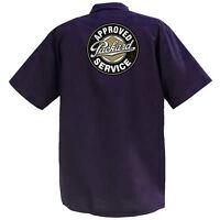 Approved Packard Service  - Mechanics Graphic Work Shirt  Short Sleeve