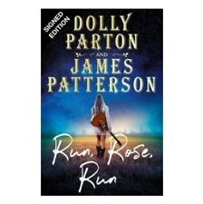 More details for hand signed dolly parton & james patterson - run rose run autographed book