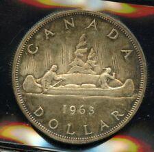 1963 Canada Silver Dollar - ICCS MS-63