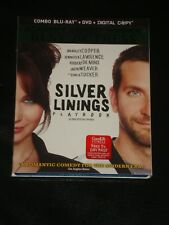 Blu-Ray movie SILVER LININGS PLAYBOOK, DvD and Digital Copy Included, SLEEVE