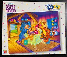 Disney Winnie the Pooh ~ 24 Piece Puzzle ~ New ~ Tigger Piglet Eeyore By Mattel