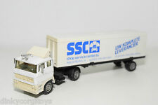 SOLIDO DAF 2800 CAMION TRUCK WITH TRAILER SSC SHOP SERVICE CENTER BV NEAR MINT
