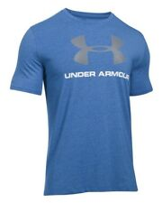 Under Armour * UA Charged Cotton Sportstyle Logo Tshirt Blue Large