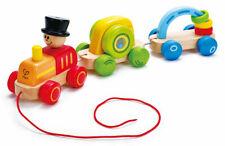 Hape E0431 Triple Play train tirer en Bois Jouet Bébé Enfants Âge 2 ans +