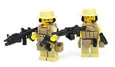 US Army Commandos Minifigures (SKU60) made with real LEGO®  minifigures