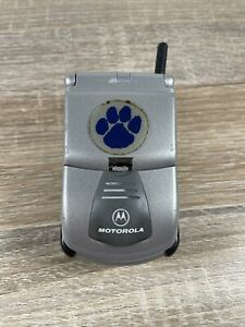 Motorola Timeport P8767 - Silver Cellular Phone - Not Tested
