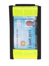Hi Vis BELT MOUNTED ID Badge Holder Security Badge Card Doorman SIA Guard