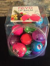 40 Bulk Chap Ice Revo Lip Balm Balls - Watermelon, Blue Razberry, Pomegranate