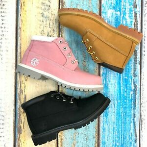 Timberland Women's Nellie Leather Chukka Boots - All Colors