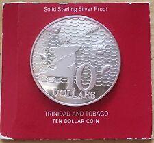 Trinidad & Tobago 1974 10 Dollars; KM-24a; Proof (#cr11)