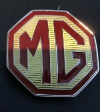 mg mgf rear 58mm grille badge and locating lugs, with 3m backing