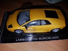 Lamborghini Mucielago Gialla - Die Cast 1:43 - Scala 1:43 - DeAgostini - Nuova