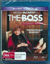 The Boss Blu Ray New (Melissa McCarthy) Region B Free Post