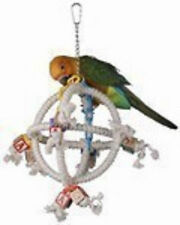 Parrot Bird Toy Swing Orbiter Perch