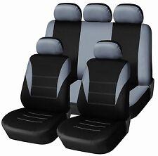 Sitzbezug Sitzbezüge Schonbezüge Schonbezug Set Grau für Honda Mazda KIA Hyundai