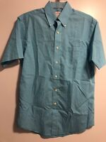 Men's Brooks Brothers 346 Original Polo Shirt Dress Blue/White Checkered  Size S