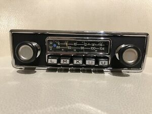 70' s style BMW 02 Blaupunkt Frankfurt Radio