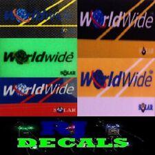 Solar Worldwide Decals Sticker (5 Colours) For Solar Worldwide Rod Pod