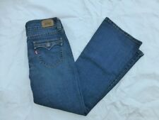 WOMENS LEVIS 515 FLARE JEANS SIZE 6Px29.5 #W2699
