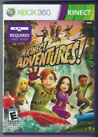 🔥🔥🔥 Kinect Adventures! (Microsoft Xbox 360, 2010) (Complete w/ Manual) 🎮🎮🎮