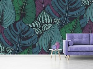 Compositions Of Tropical Plants Wall Mural Photo Wallpaper Giant Paper Poster