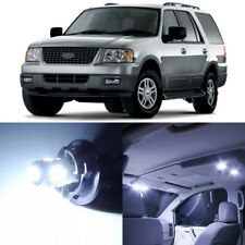 12 x Xenon White Interior LED Lights Package For 2003-2006 Ford Expedition +TOOL