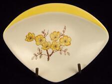 Carlton Ware Yellow 'Mimosa' Flowers Trinket/Pin Dish