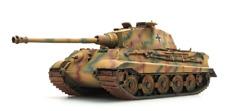 ARTITEC WWII German Tiger II Henschel tank 1/87 FINISHED MODEL TANK